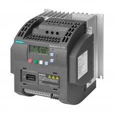(6SL3210-5BB22-2UV0) Преобразователь частоты Siemens SINAMICS V20, P=2,2 кВт, Uвх=1Фх220В/Uвых=3Фх220В