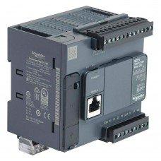 (TM221C16R) ПЛК M221 16 ВХ/ВИХ РЕЛЕ 1RS485, Schneider Electric