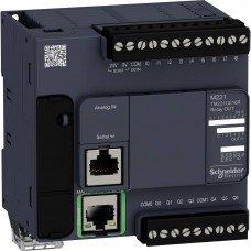 (TM221CE16R) ПЛК M221 16 ВХ/ВИХ РЕЛЕ 1RS485 1ETH, Schneider Electric