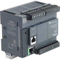 (TM221CE24R) ПЛК M221 24 ВХ/ВИХ РЕЛЕ 1RS485 1ETH, Schneider Electric