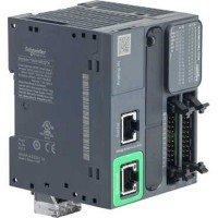 (TM221ME32TK) ПЛК M221B 32 ВХ/ВИХ ТРАНЗ 1RS485 1ETH, Schneider Electric
