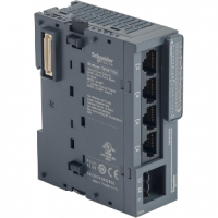 (TM3XTYS4) Экстренный Модуль расширения, управление пускателями TESYS для контроллеров серии Modicon M2X1, Schneider Electric