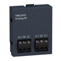 (TMC2AI2) Картридж расширения аналогового ввода для контроллеров серии Modicon M221: 2AI (0-10В/4-20МА), Schneider Electric