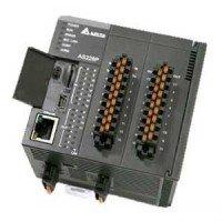 (AS228T-A) Процессорный модуль серии AS, 28 ВХ/ВЫХ ТРАНЗ (NPN), Ethernet, CANopen, 2xRS485, Delta Electronics