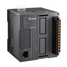 (AS320P-B) Процессорный модуль серии AS, 20 ВХ/ВЫХ ТРАНЗ (PNP), Ethernet, 2xRS485, 2 слота под платы расширения, Delta Electronics
