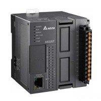 (AS228P-A) Процессорный модуль серии AS, 28 ВХ/ВЫХ ТРАНЗ (PNP), Ethernet, CANopen, 2xRS485, Delta Electronics