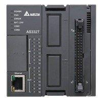 (AS332P-A) Процессорный модуль серии AS, 32 ВХ/ВЫХ ТРАНЗ (PNP), Ethernet, 2xRS485, 2 слота под платы расширения, Delta Electronics