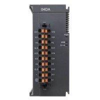 (AS04DA-A) Модуль расширения аналогового вывода для процессорного модуля AS, 4 AO, потенциальный и токовый режимы, Delta Electronics