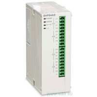 (DVP04PT-S) Модуль расширения измерения температуры для контроллеров серии DVP-S**: 4 термосопр. PT, 14bit (0.1°C), RS-485, Uпит=24В DC, Delta Electronics