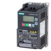 (6SL3210-5BB17-5UV1) Преобразователь частоты Siemens SINAMICS V20, P=0,75 кВт, Uвх=1Фх220В/Uвых=3Фх220В