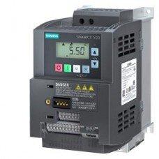 (6SL3210-5BB21-1UV1) Преобразователь частоты Siemens SINAMICS V20, P=1,1 кВт, Uвх=1Фх220В/Uвых=3Фх220В
