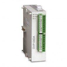 (DVP04DA-S) Модуль расширения аналогового вывода для контроллеров серии DVP-S** : 4AO, RS-485, Uпит=24В DC, Delta Electronics