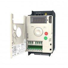 (ATV12H018M2) Преобразователь частоты Schneider Electric ALTIVAR12, P=0.18 кВт, Uвх=1Фх220В/Uвых=3Фх220В